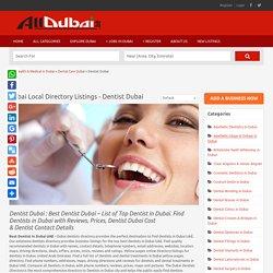 Dentist Dubai Prices & Cost