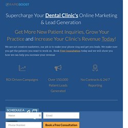 Top Online Marketing Company For Dentist in Edmonton