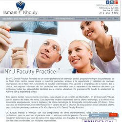 Dentista barato - NYU Faculty Practice