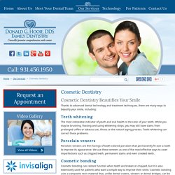 Cosmetic Dentistry – Teeth Whitening & Gum Lifts in Cookeville, Sparta, TN