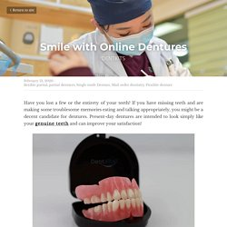 Smile with Online Dentures