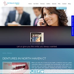Partial and Complete Dentures North Haven