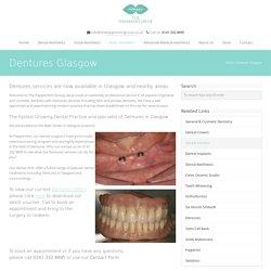 Dentures services in Glasgow