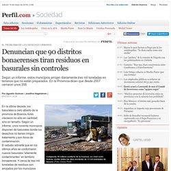 Denuncian que 90 distritos bonaerenses tiran residuos en basurales sin controles