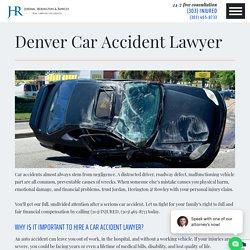 Denver Car Accident Lawyer