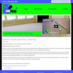 Denver Carpet And Floor Cleaning