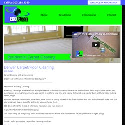 Denver Carpet/Floor Cleaning
