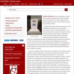 DENYS, NICOLAS – Volume I (1000-1700)