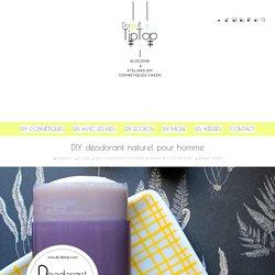 DIY déodorant naturel pour homme – Le Blog et les Ateliers Do It Tiptop