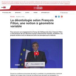 La déontologie selon François Fillon, une notion à géométrie variable - rts.ch - Monde