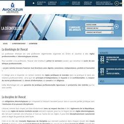 La Déontologie - La profession d'Avocat - Ordre des avocats du barreau de Draguignan