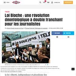 Loi Bloche : une révolution déontologique à double tranchant pour les journalistes