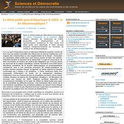 2010/03/14 - Le débat public peut-il départager le GIEC et les climatosceptiques ?
