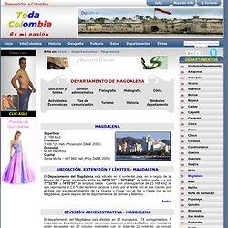 MAGDALENA: Departamento de Magdalena Colombia - Informacion detallada Magdalena Colombia