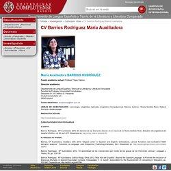 UCM-Departamento de Lengua Española y Teoría de la Literatura y Literatura Comparada