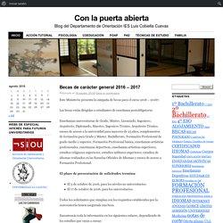 Blog del Departamento de Orientación IES Luis Cobiella Cuevas