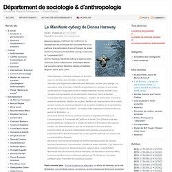 Département de sociologie & d'anthropologie