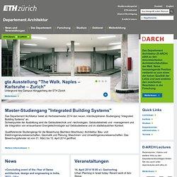 News - D-ARCH - ETH Zurich