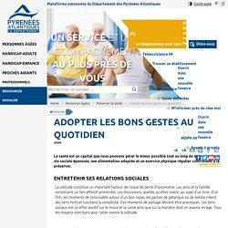 Plateforme autonomie du Département des Pyrénées-Atlantiques
