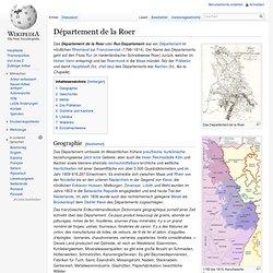Département de la Roer