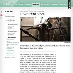 Département décor