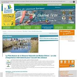 Site officiel du Département - Conseil départemental 17 - Article - Réserve Naturelle de Moëze-Oléron