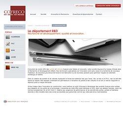 Le département Recherche & Développement portails Cofreco