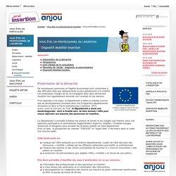 Département de Maine-et-Loire - Dispositif Mobilité-Insertion