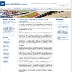 Département des sciences de l'information