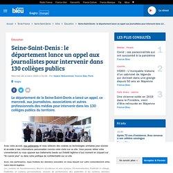 Seine-Saint-Denis : le département lance un appel aux journalistes pour intervenir dans 130 collèges publics