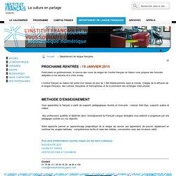 Département de langue française