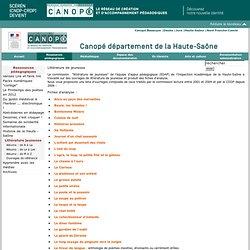 Canopé département de la Haute-Saône : Littérature jeunesse