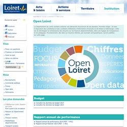 Département du Loiret - Open Loiret