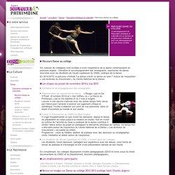 [Département de Maine-et-Loire] - Parcours Danse au collège