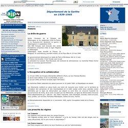La Sarthe en 1939-1945. AJPN