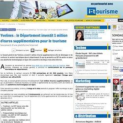 Yvelines : le Département investit 1 million d'euros supplémentaires pour le tourisme