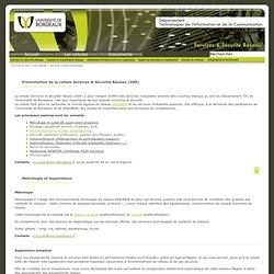 SSR - DTIC de l'Université de Bordeaux