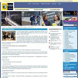 Département du Finistère - Insertion