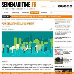 Département de la Seine-Maritime - Plan Départemental de l'Habitat