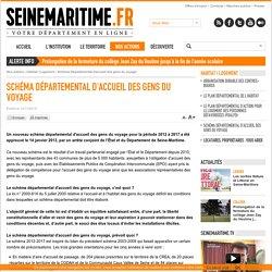 Département de la Seine-Maritime - Schéma Départemental d'accueil des gens du voyage