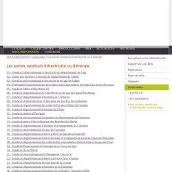 site officiel du syndicat départemental d'énergie 35 - Les autres syndicats d'électricité ou d'énergie