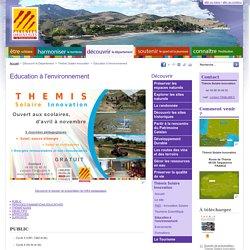 Education - Conseil Départemental des Pyrénées-Orientales