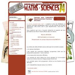 Groupe Départemental Maths-Sciences - Animations pédagogiques
