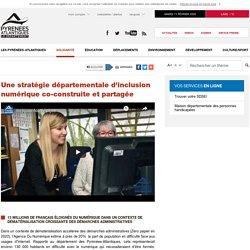 Une stratégie départementale d'inclusion numérique co-construite et partagée