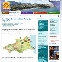 [Département des Pyrénées-Orientales] - L'agriculture départementale