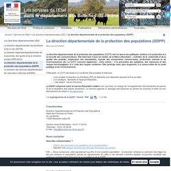 La direction départementale de la protection des populations (DDPP)