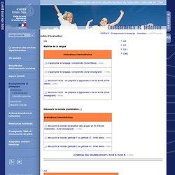 Direction des services départementaux de l'éducation nationale du Cher:outils d'évaluation
