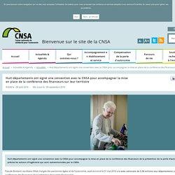 Convention avec la CNSA pour accompagner la mise en place de la conférence des financeurs