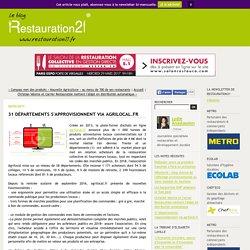 31 départements s'approvisionnent via agrilocal.fr