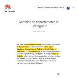 Combien de départements en Bretagne ? COCORICO !